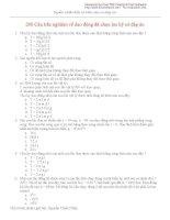 200 câu trắc nghiệm về dao động đã chọn có đáp án pot