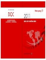 báo cáo thường niên 2011 điện quang annual report mã chứng khoán dqc