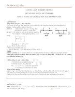 phân dạng bài tập vật lí 11 nâng cao