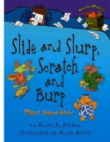 Slide and Slurp, Scratch and Burp: More about Verbs potx