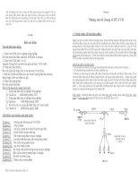 Bài giảng môn học cung cấp điện-Chương 1 docx