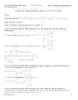 Kỹ thuật giải nhanh chương vật lý hạt nhân
