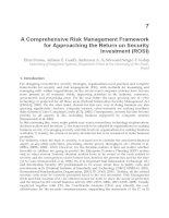 Risk Management in Environment Production and Economy Part 9 pptx