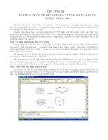 Phương pháp vẽ hình chiếu vuông góc và hình chiếu trục pdf