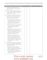 Checklist for Review of Financial Audits Performed by the Office of Inspector General_part2 pot