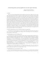 Về hệ thống phân loại trong nghiên cứu cá nước ngọt ở Việt Nam pdf