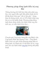 Phương pháp đông lạnh điều trị ung thư pdf