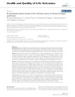 Health and Quality of Life Outcomes BioMed Central Research Open Access A population-based study pot