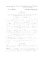 Quyết định số 2839/QĐ-BGTVT ppt