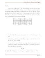 Bài tập có lời giải về kiểm soát quá trình bằng thống kê