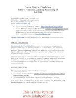 Course Contract* (syllabus) Intro to Financial Auditing-Accounting 58 pptx