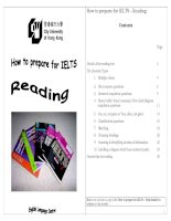 How to prepare for IELTS – Reading pot