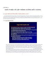 Lap trinh huong doi tuong OOP C++ ppt