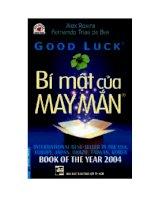 Good Luck BÍ MẬT CỦA MAY MẮN pot