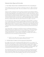 Minnesota State Colleges and Universities Statewide Audit Fiscal Year Ended June 30, 1998 March 1999 Financial Audit Division Office of the Legislative Auditor State of Minnesota_part2 ppt