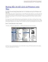 Hướng dẫn chi tiết cách cài Windows trên Mac pptx