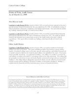 Central Lakes College Financial Audit For the Period July 1, 1995, through June 30, 1998 May 1999 Financial Audit Division Office of the Legislative Auditor State of Minnesota_part4 docx
