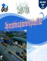 Luận văn phân tích chiến lược của Tập đoàn thép Hòa Phát giai đoạn 2012 2020