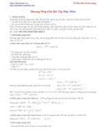 Phương pháp giải bài toán điên phân pptx