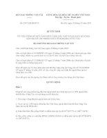 Quyết định số 2947/QĐ-BGTVT pdf