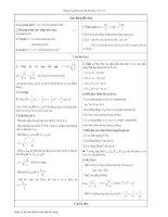 Tài liệu lý thuyết và bài tập vật lý ôn thi đại học docx