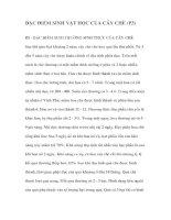 ĐẶC ĐIỂM SINH VẬT HỌC CỦA CÂY CHÈ (P3) docx