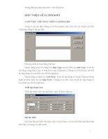 Hướng dẫn thực hành Lập trình C trên Windows GIỚI THIỆU VỀ CLIPBOARDLÀM VIỆC docx