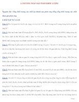 2: PHƯƠNG PHÁP BẢO TOÀN KHỐI LƯỢNG pot