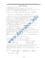 270 bài toán bồi dưỡng học sinh giỏi THCS ppt