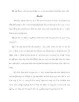 Đề bài: Trong vai Lạc Long Quân, hãy kể lại câu chuyện Con Rồng cháu Tiên. potx