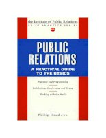 Public relations a practical guide to the basics_1 docx
