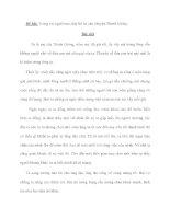 Đề bài: Trong vai người mẹ, hãy kể lại câu chuyện Thánh Gióng potx