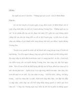 """Đề bài : Suy nghĩ của em về văn bản : """"Những ngôi sao xa xôi """"của Lê Minh Khuê. doc"""