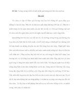 Đề bài: Tưởng tượng và kể về một miền quê trong một bức thư của bạn. doc