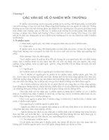 chương 5 các vấn đề ô nhiễm môi trường