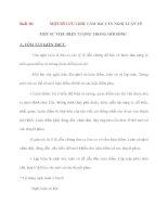 MỘT SỐ LƯU í KHI LÀM BÀI VĂN NGHỊ LUẬN VỀ MỘT SỰ VIỆC HIỆN TƯỢNG TRONG ĐỜI SỐNG pdf