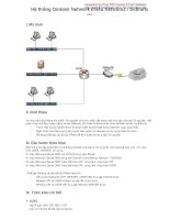 Bài 4: Giới thiệu hệ thống Mạng Domain Network pot