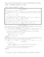 Phương pháp giải bài tập về amin