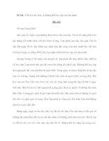 Đề bài: Viết thư cho bạn, tả không khí học tập của lớp mình potx