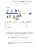 Bài 4 : Giới thiệu hệ thống Mạng Domain Network Dùng trong Quản lý Doanh potx