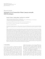 Hindawi Publishing Corporation EURASIP Journal on Image and Video Processing Volume 2010, Article ID doc