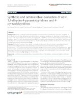Prakash et al. Organic and Medicinal Chemistry Letters 2011, 1:5 docx