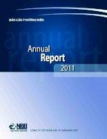 báo cáo thường niên 2011 công ty cổ phần đầu tư năm bảy bảy