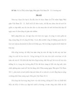 Đề bài: Tả lại lễ kỷ niệm Ngày Nhà giáo Việt Nam 20 - 11 ở trường em pptx