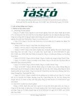báo cáo thường niên năm 2010 công ty cổ phần tasco