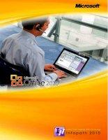 Giáo trình hướng dẫn sử dụng Infopath 2010 potx