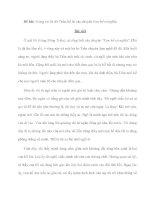 Đề bài: Trong vai bà đỡ Trần, kể lại câu chuyện Con hổ có nghĩa ppt