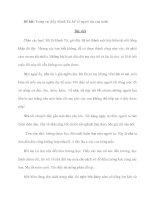 Đề bài: Trong vai thầy Mạnh Tử, kể về người mẹ của mình potx