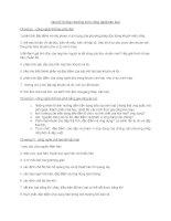 Câu hỏi ôn tập chương môn công nghệ kim loại ppt