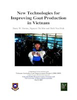 New Technologies for Improving Goat Production in Vietnam pdf